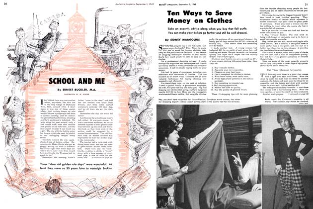Article Preview: SCHOOL AND ME, September 1949 | Maclean's