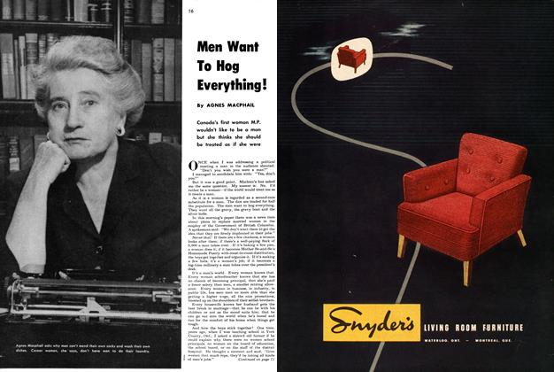 Article Preview: Men Want To Hog Everything !, September 1949 | Maclean's