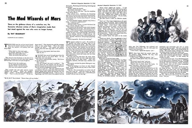 Article Preview: The Mad Wizards of Mars, September 1949 | Maclean's