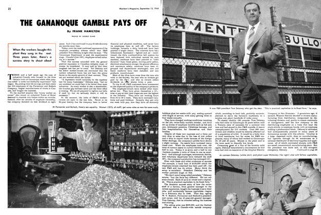 Article Preview: THE GAHAHOQUE GAMBLE PAYS OFF, September 1949 | Maclean's