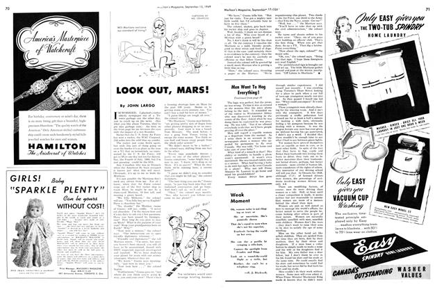 Article Preview: LOOK OUT, MARS!, September 1949 | Maclean's