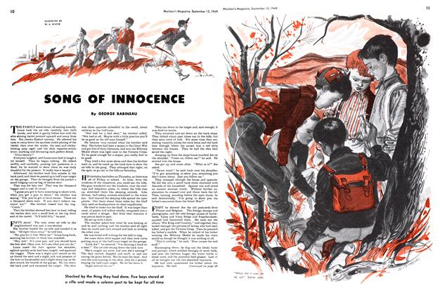 Article Preview: SONG OF INNOCENCE, September 1949 | Maclean's