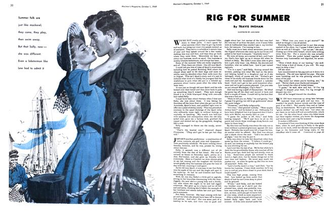 Article Preview: RIG FOR SUMMER, October 1949 | Maclean's