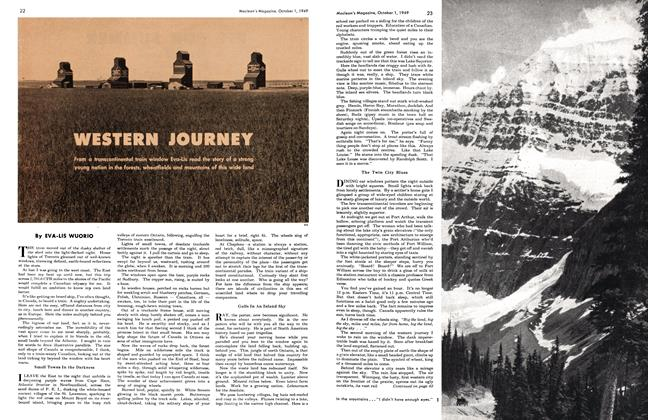 Article Preview: WESTERN JOURNEY, October 1949 | Maclean's