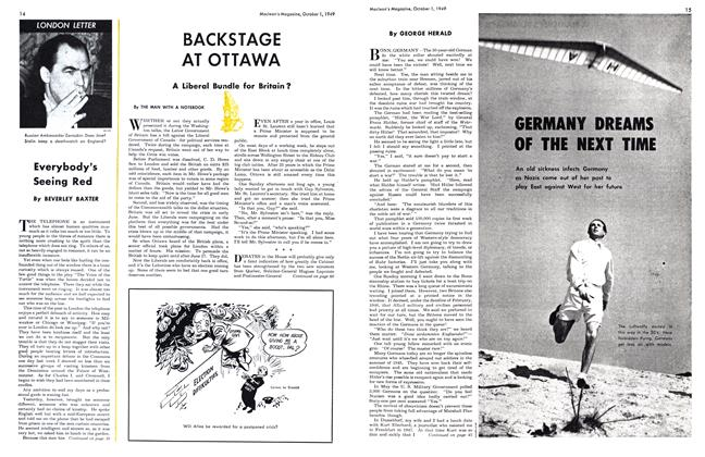 Article Preview: GERMANY DREAMS OF THE NEXT TIME, October 1949 | Maclean's