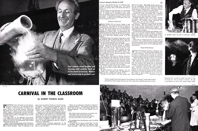 Article Preview: CARNIVAL IN THE CLASSROOM, October 1949 | Maclean's