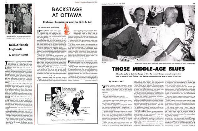 Article Preview: THOSE MIDDLE-AGE BLUES, October 1949 | Maclean's