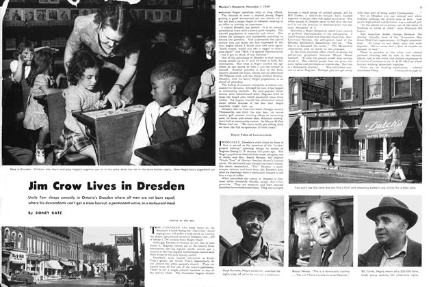 Article Preview: Jim Crow Lives in Dresden, November 1949 | Maclean's