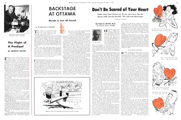 Article Preview: Don't Be Scared of Your Heart, November 1949 | Maclean's