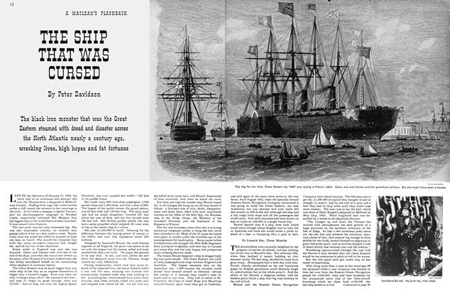 Article Preview: THE SHIP THAT WAS CURSED, December 1949 | Maclean's