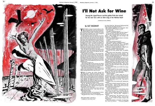 Article Preview: I'll Not Ask for Wine, January 1950 | Maclean's