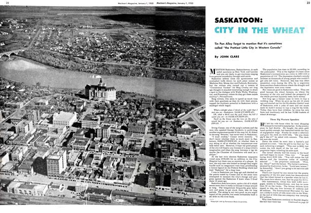 Article Preview: SASKATOON: CITY IN THE WHEAT, January 1950 | Maclean's
