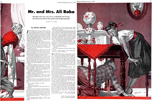 Article Preview: Mr. and Mrs. Ali Baba, January 1950 | Maclean's