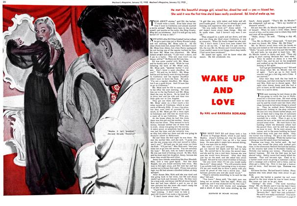Article Preview: WAKE UP AND LOVE, January 1950 | Maclean's