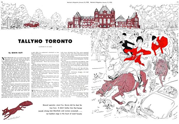 Article Preview: TALLYHO TORONTO, January 1950 | Maclean's