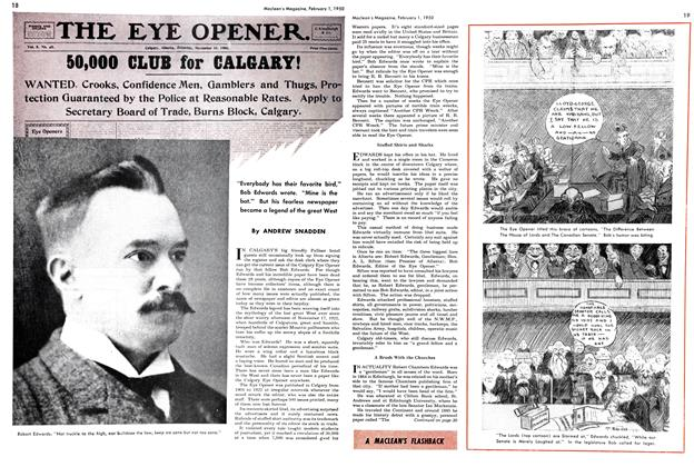 Article Preview: THE EYE OPENER., February 1950 | Maclean's