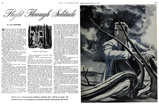 Article Preview: Flight Through Solitude, February 1950 | Maclean's
