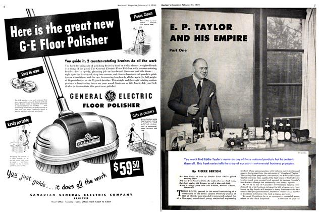 Article Preview: E. P. TAYLOR AND HIS EMPIRE, February 1950 | Maclean's