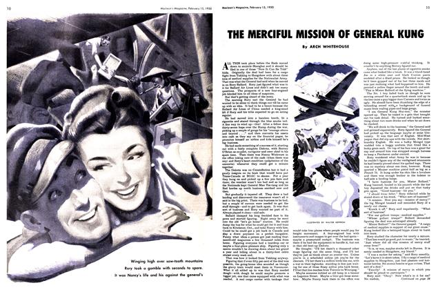 Article Preview: THE MERCIFUL MISSION OF GENERAL KUNG, February 1950 | Maclean's