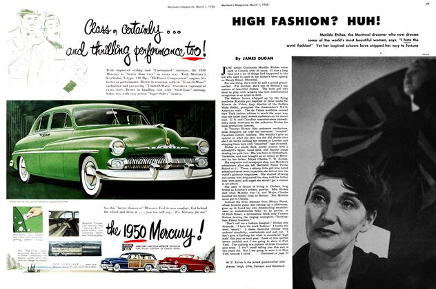 Article Preview: HIGH FASHION? HUH!, March 1950 | Maclean's