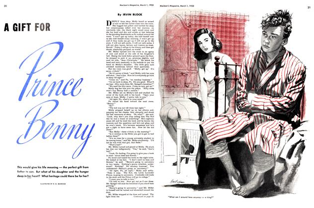 Article Preview: A Gift For Prince Benny, March 1950 | Maclean's