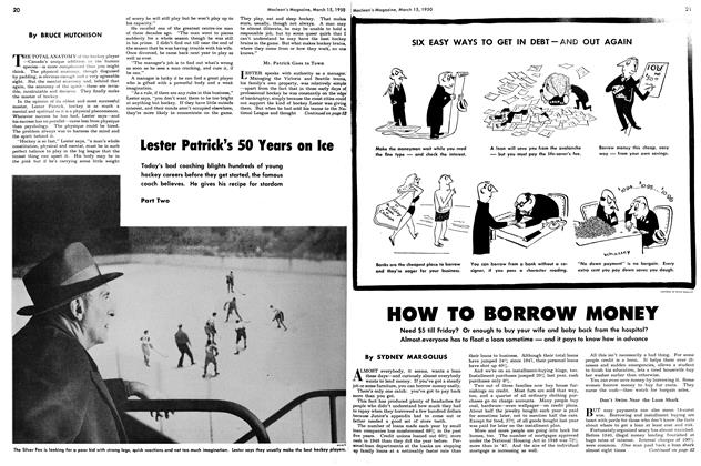 Article Preview: Lester Patrick's 50 Years on Ice, March 1950 | Maclean's