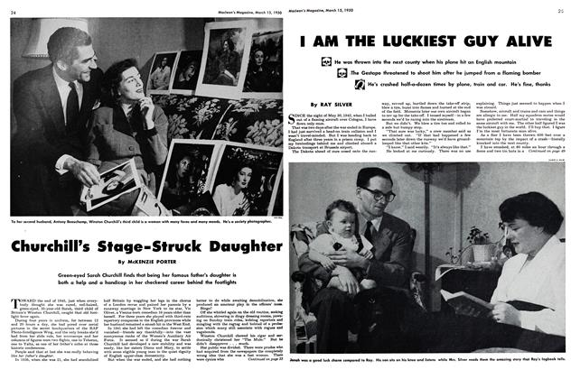 Article Preview: I AM THE LUCKIEST GUY ALIVE, March 1950 | Maclean's