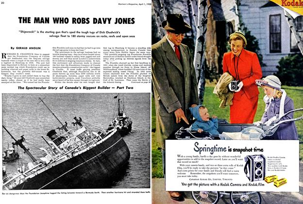 Article Preview: THE MAN WHO ROBS DAVY JONES, April 1950 | Maclean's