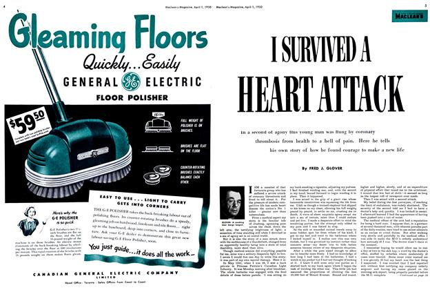 Article Preview: I SURVIVED A HEART ATTACK, April 1950 | Maclean's