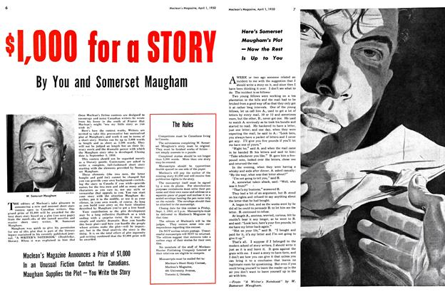 Article Preview: $1,000 for a STORY, April 1950 | Maclean's