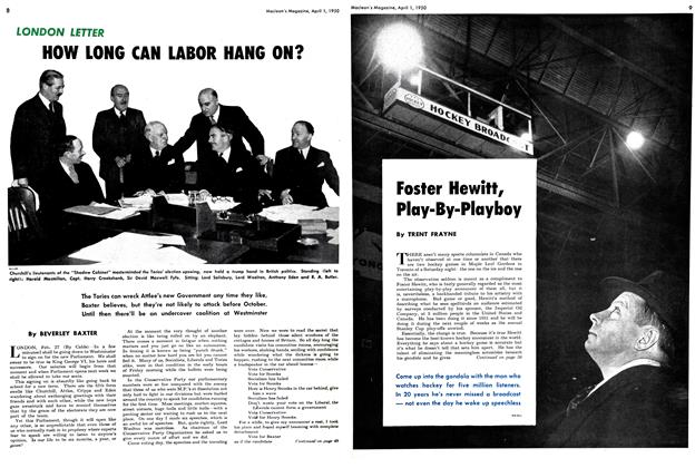 Article Preview: Foster Hewitt, Play-By-Playboy, April 1950 | Maclean's
