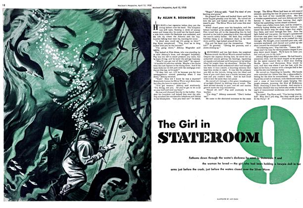Article Preview: The Girl in STATEROOM, April 1950 | Maclean's