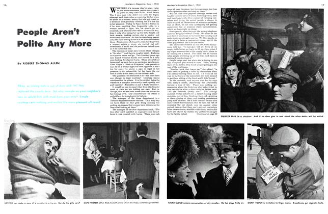 Article Preview: People Aren't Polite Any More, May 1950 | Maclean's