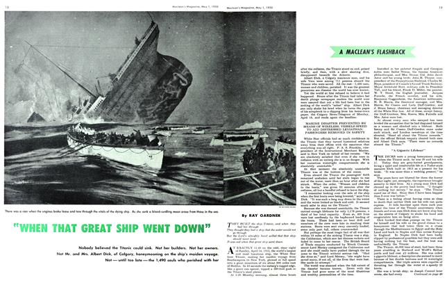 "Article Preview: ""WHEN THAT GREAT SHIP WENT DOWN"", May 1950 
