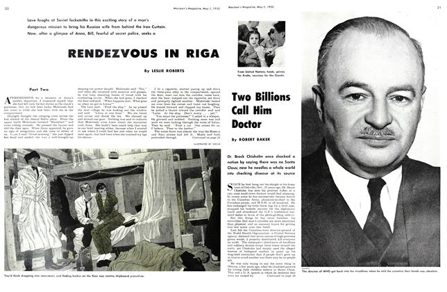 Article Preview: RENDEZVOUS IN RIGA, May 1950 | Maclean's