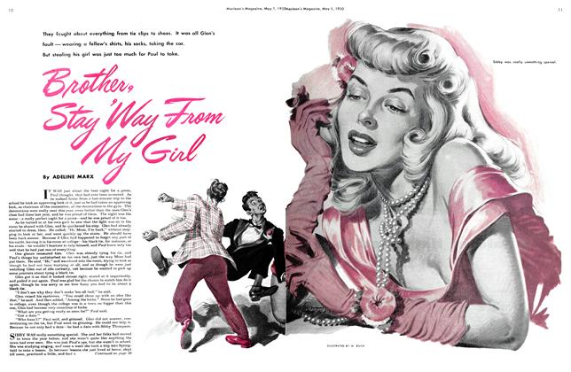 Article Preview: Brother, Stay 'Way From My Girl, May 1950 | Maclean's