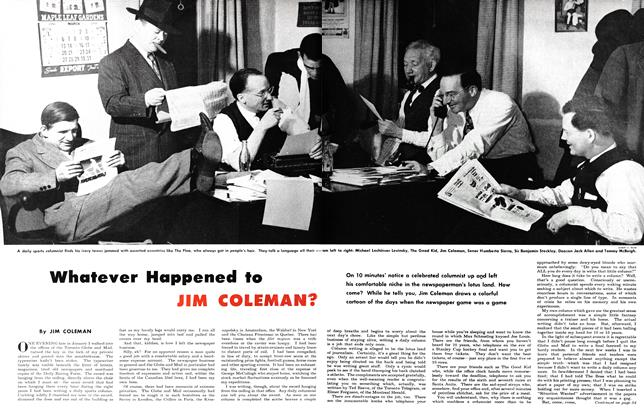 Article Preview: Whatever Happened to JIM COLEMAN?, May 1950 | Maclean's