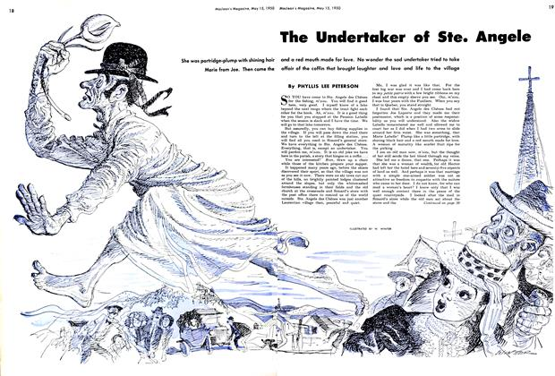 Article Preview: The Undertaker of Ste. Angele, May 1950 | Maclean's