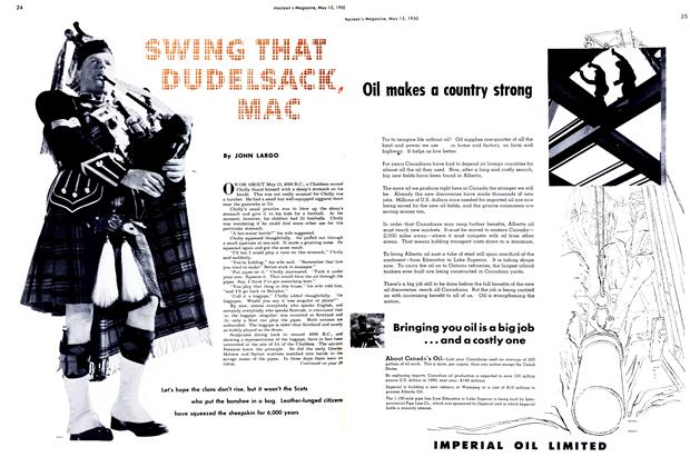 Article Preview: SWING THAT DUDELSACK, MAC, May 1950 | Maclean's