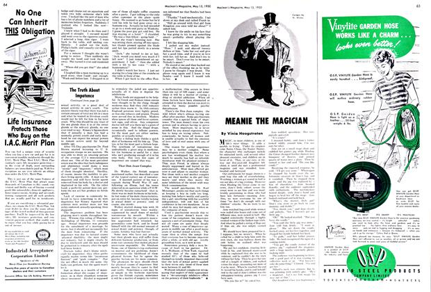 Article Preview: MEANIE THE MAGICIAN, May 1950 | Maclean's