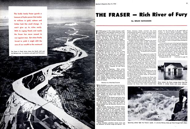 Article Preview: THE FRASER - Rich River of Fury, May 1950 | Maclean's