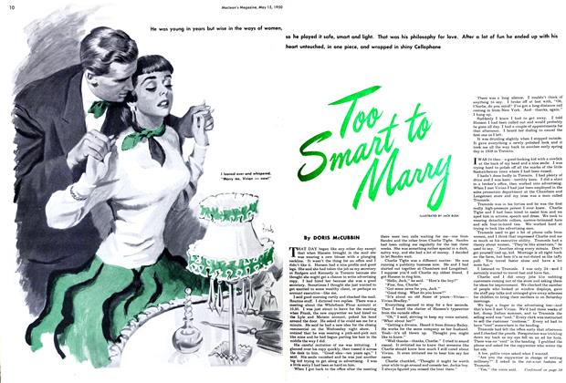 Article Preview: Too Smart to Marry, May 1950 | Maclean's
