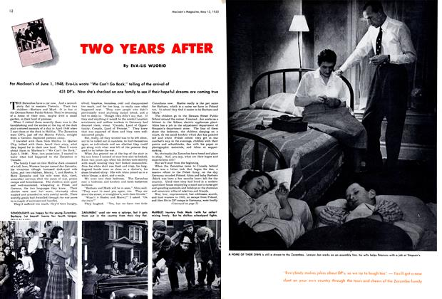 Article Preview: TWO YEARS AFTER, May 1950 | Maclean's