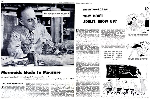Article Preview: Mermaids Made to Measure, June 1950 | Maclean's