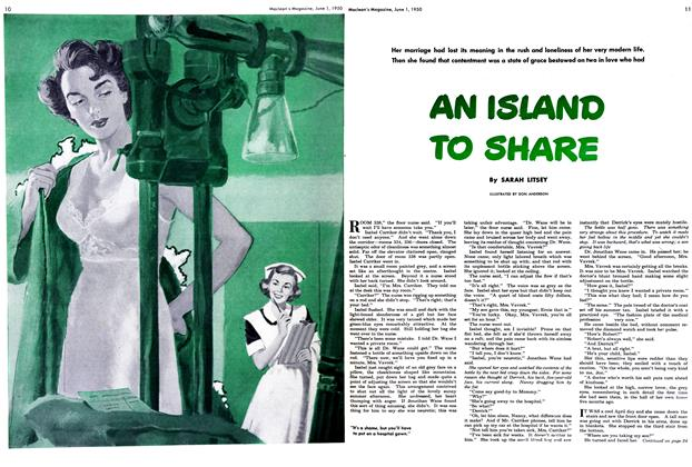 Article Preview: AN ISLAND TO SHARE, June 1950 | Maclean's