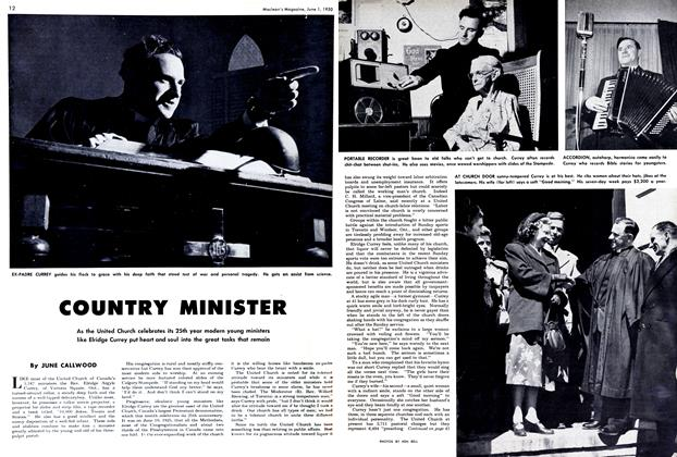Article Preview: COUNTRY MINISTER, June 1950 | Maclean's