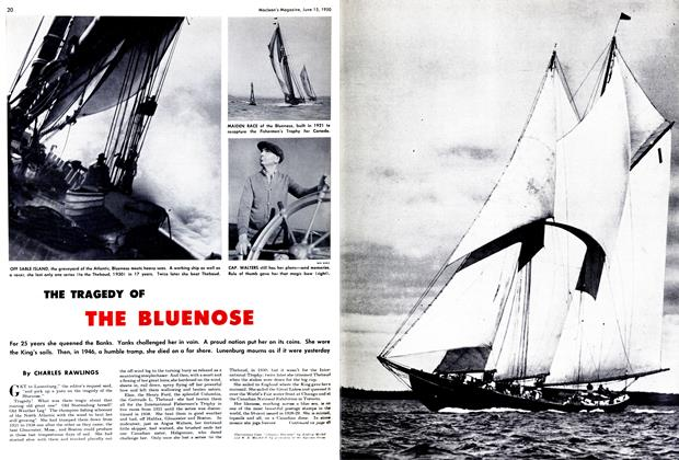 Article Preview: THE TRAGEDY OF THE BLUENOSE, June 1950 | Maclean's