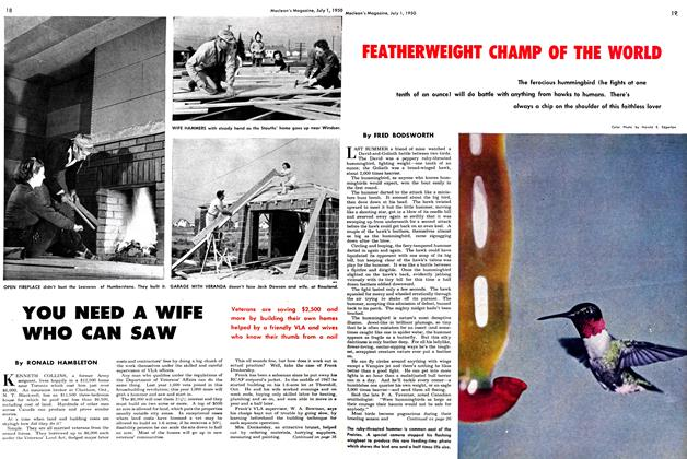 Article Preview: YOU NEED A WIFE WHO CAN SAW, July 1950 | Maclean's