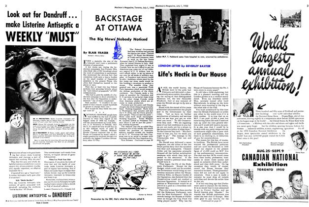 Article Preview: Life's Hectic in Our House, July 1950 | Maclean's