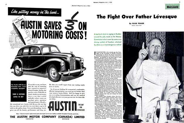 Article Preview: The Fight Over Father Levesque, July 1950 | Maclean's
